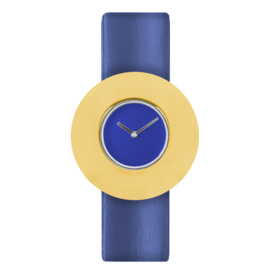 dsigntime easy going watch horloge blauw