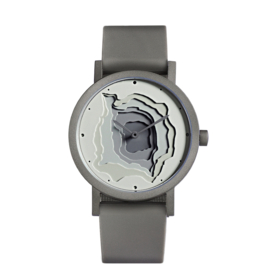 projects watches terra time horloge grijs