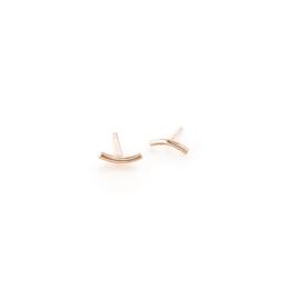mini curve oorbellen