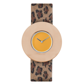 dsigntime easy going watch horloge warmgeel