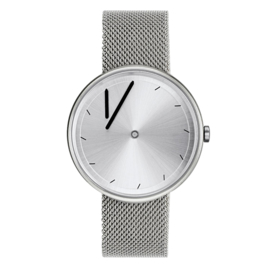 projects watches twirler horloge staal mesh