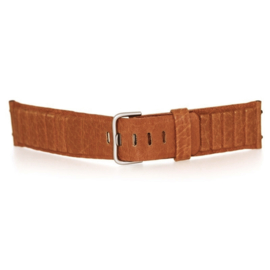 bruno ninaber horlogeband 1984 bruin met gesp