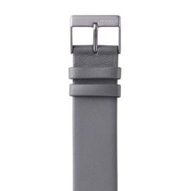 normal fuji horlogeband grijs leer