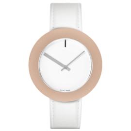 pierre junod mv40 vignelli large horloge wit