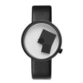 projects watches bauhaus century zwart