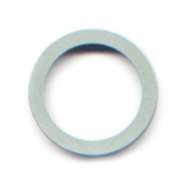 pierre junod mv 44 vignelli thick & thin mega ring pastelgroen