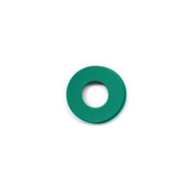 vignelli baby ring zeegroen