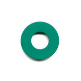 pierre junod mv dot vignelli halo ring zeegroen