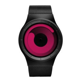 ZIIIRO Mercury Horloge Black/Magenta