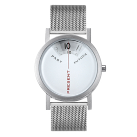projects watches past, present & future horloge mesh