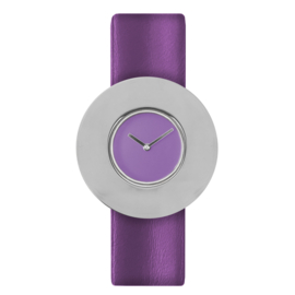 dsigntime easy going watch horloge lila