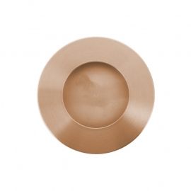 ronde rosékleurige  gematteerde kast easy going