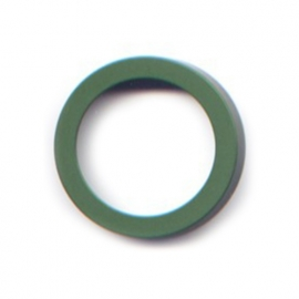 pierre junod mv 40 vignelli thick & thin large ring groen