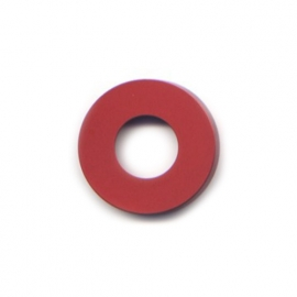 pierre junod mv dot vignelli halo ring rood