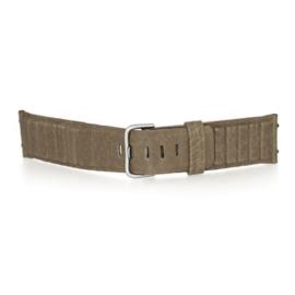 bruno ninaber horlogeband 1984 zand met gesp