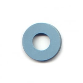 pierre junod mv dot vignelli halo ring pastelblauw