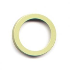 pierre junod mv 40 vignelli thick & thin large ring lime
