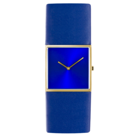 dsigntime/JLDC horloge goud & blauw