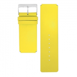 dsigntime watch strap bright yellow