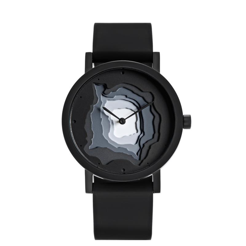 projects watches terra time horloge zwart