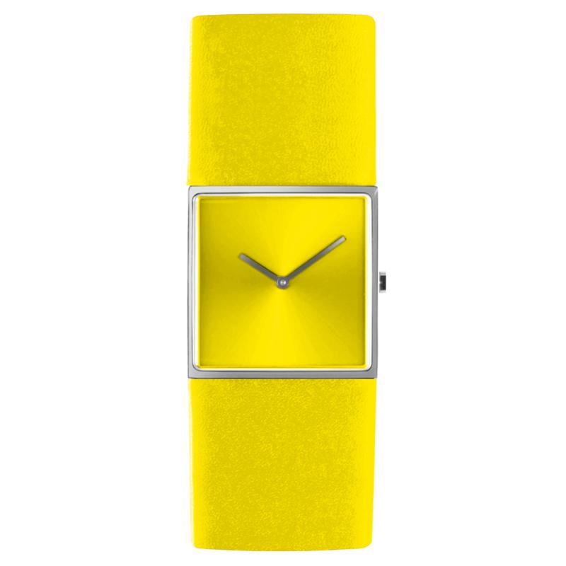 dsigntime/JLDC horloge geel
