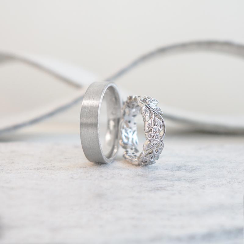 guirlande trouwringen
