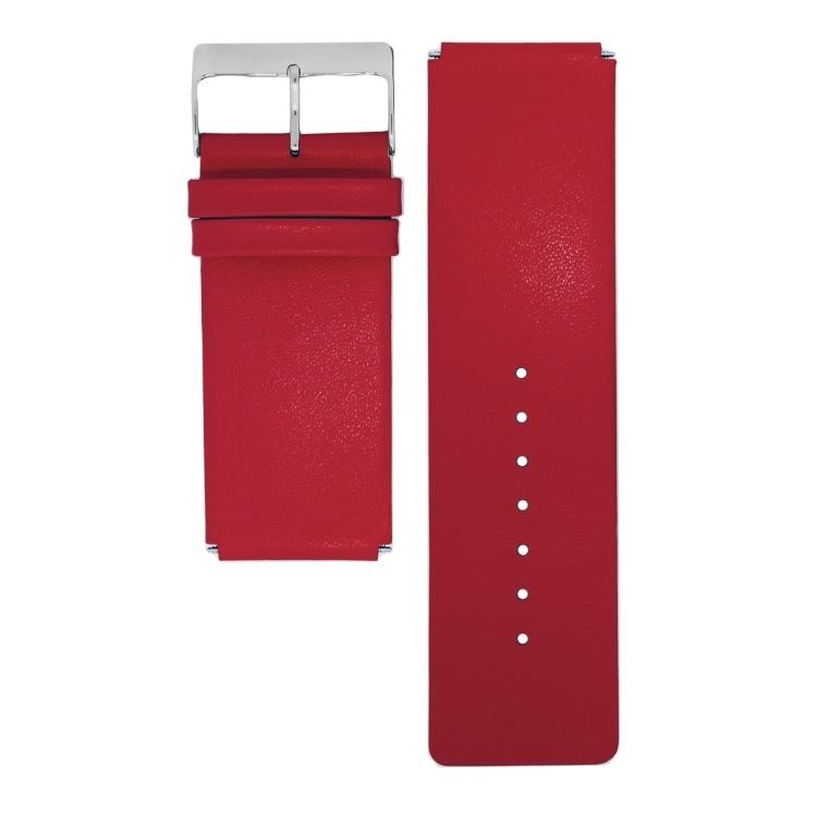 dsigntime horlogeband donkerrood