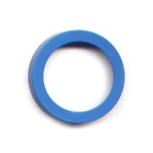 pierre junod mv 40 vignelli thick & thin large ring blauw