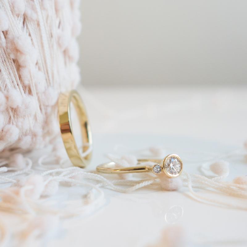 sparkle trouwring