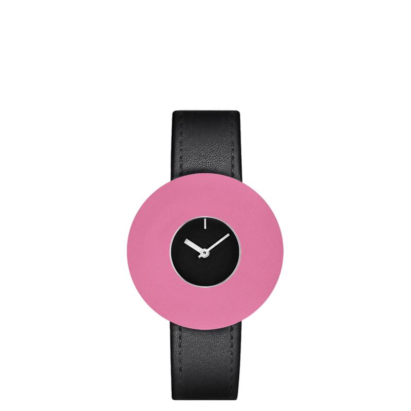 pierre junod mv small vignelli baby horloge zwart
