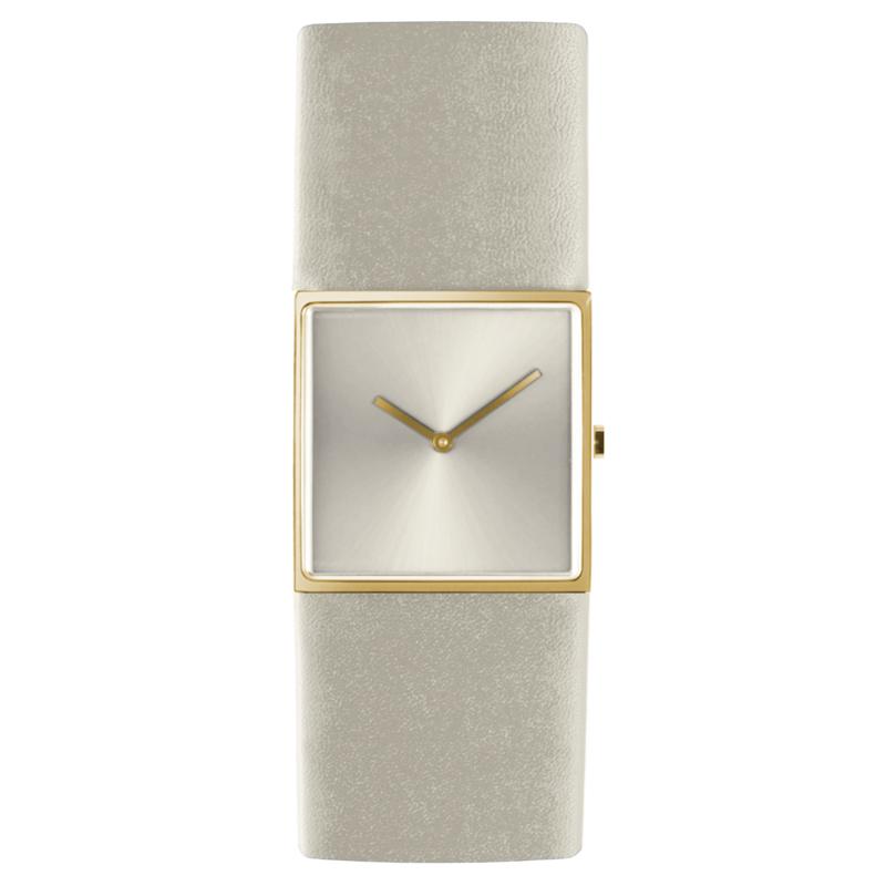 dsigntime/JLDC horloge goud & wit