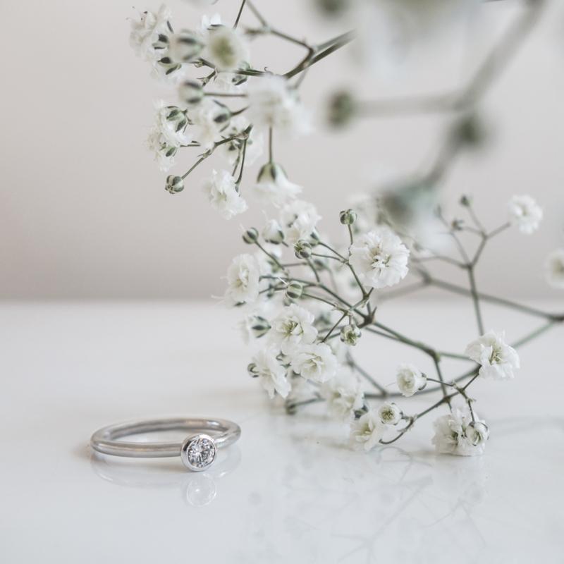 cupjes trouwring