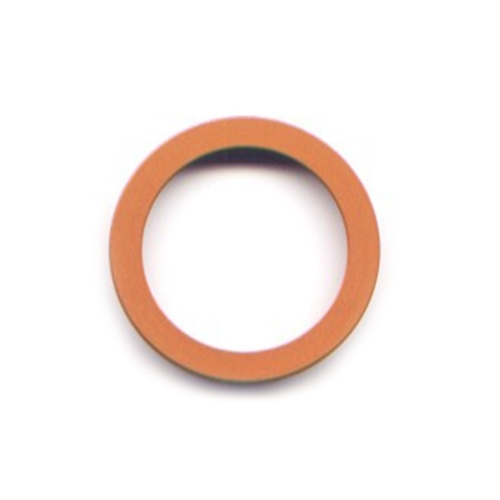 pierre junod mv 34 vignelli thick & thin ring oranje