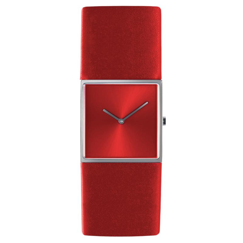 dsigntime/JLDC horloge donkerrood