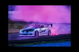 Extreme smoking 205/50R16 drifttyres