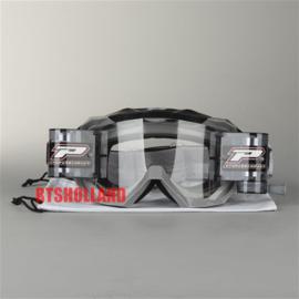 ProGrip XL crossbril grijs