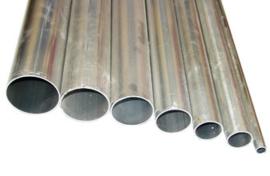 Aluminium buis 1-mtr