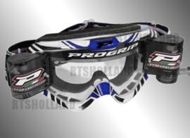 ProGrip XL crossbril blauw/wit