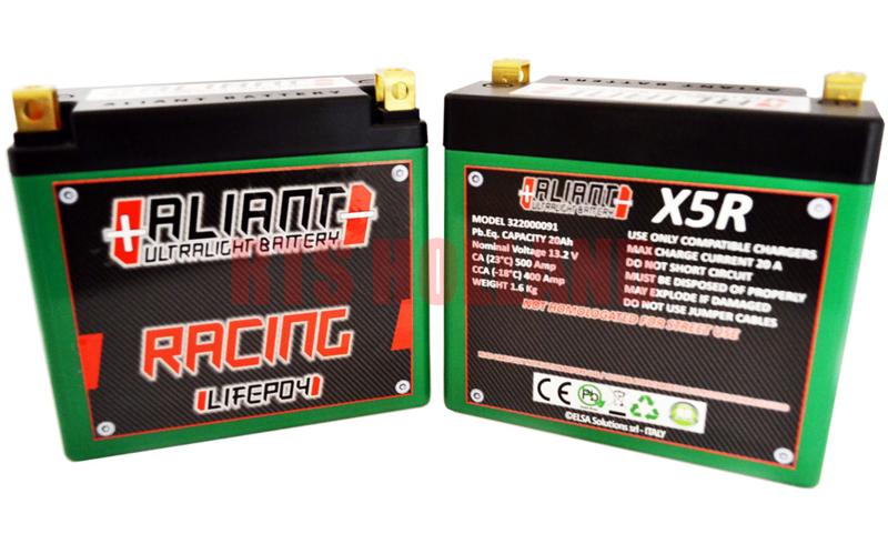 Aliant Racing X5R accu 12V - 20Ah - 500CCA