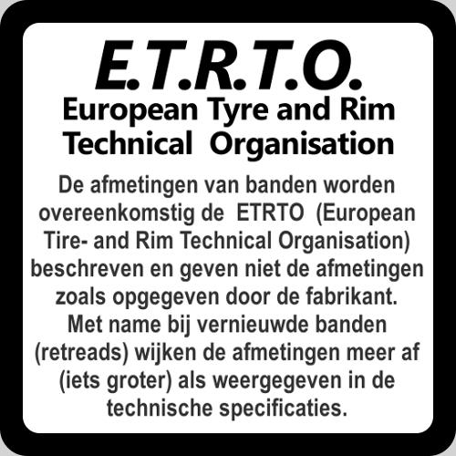 ETRTO regelgeving