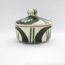 ringenbakje met deksel - aardewerk