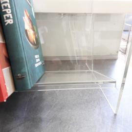 Plexiglas boekenrekje
