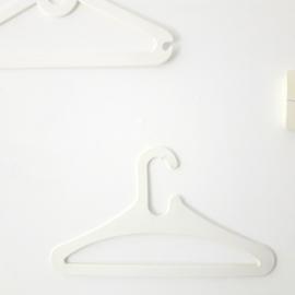 vintage kledinghanger - Zapata - per 3
