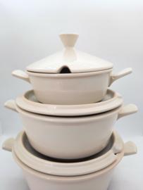 dekschaal - Fris keramiek - vintage