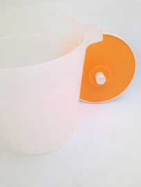 schenkkan met deksel - Tupperware - vintage