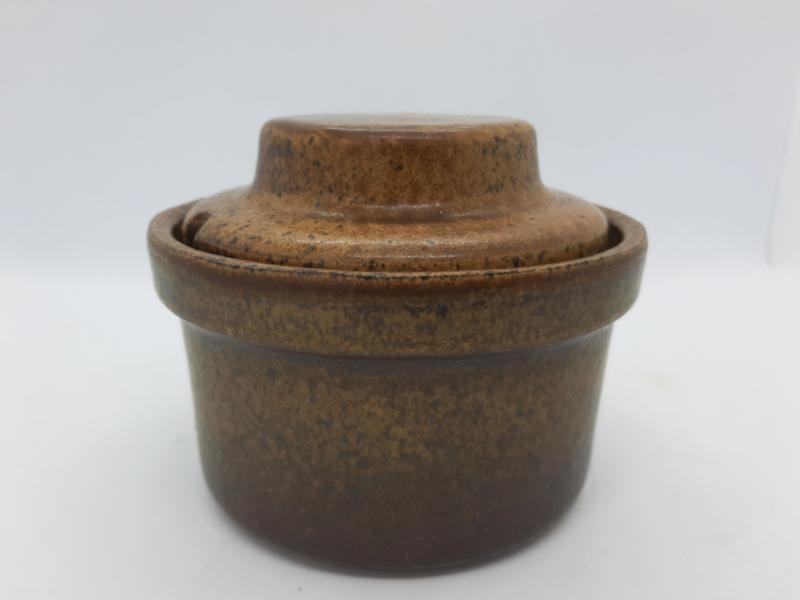 vintage suikerpot met deksel
