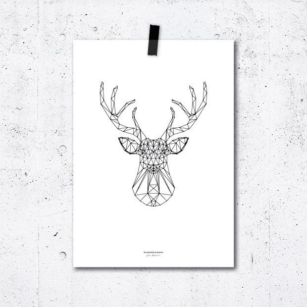 poster  - deer