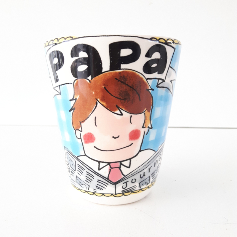 Papa koffiebeker * BLOND