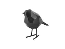 Present Time vogel metaal s - zwart