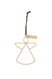 MrsBloom hanger engel s - clay